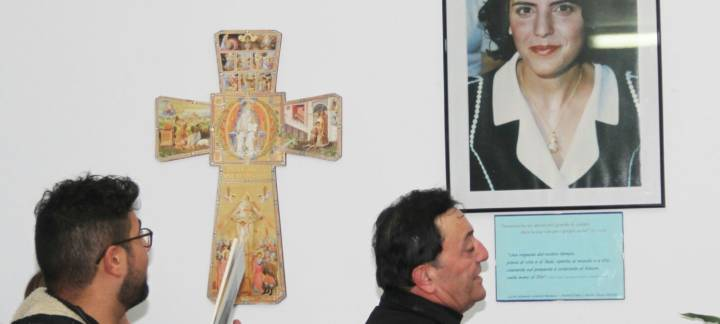 "Dedicazione salone parrocchiale ""Teresa Lapenna"""