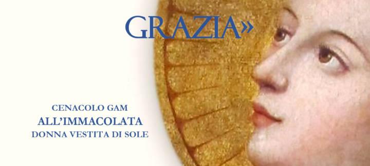 """SIA GIOIA A TE, O PIENA DI GRAZIA"""""""