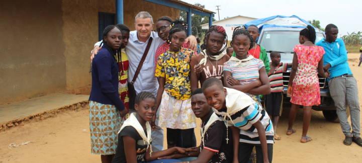 """""""ECCO IO VENGO"""" Campo-missione RDC/2016 a Kisantu"""