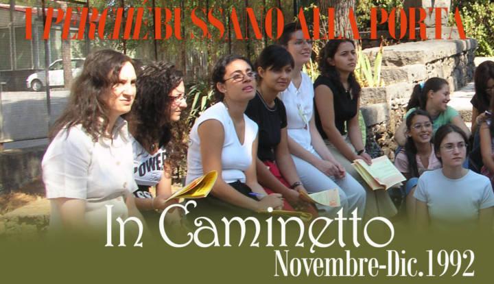 In Caminetto: Novembre-Dic.1992