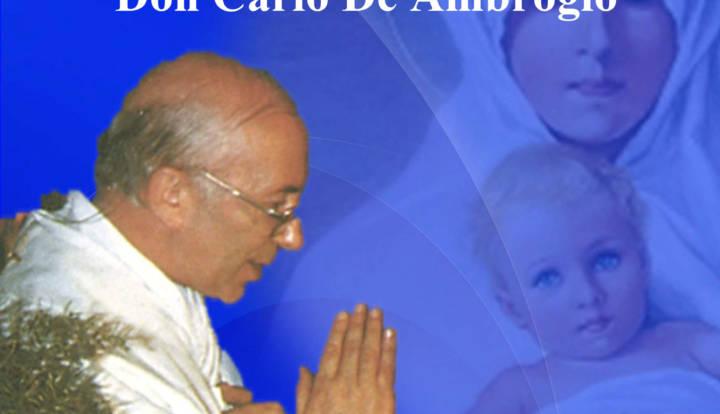 Servo di Dio don Carlo De Ambrogio
